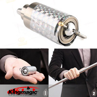 Wholesale Appearing Cane Silver Metal Stage Maigc Cane Magic Magic Cane For Magicians