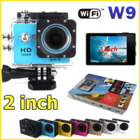 HD 1080p - SJ6000 Style WIFI Action Camera W9 Helmet sport Camera degee Lens M waterproof FHD P HDMI Car DV DVR