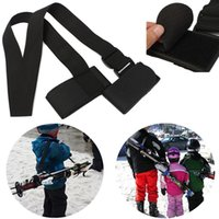 Wholesale Hot Sale New Arrival Portable Adjustable Ski Pole Shoulder Hand Carrier Strap Protection Handle Straps For Porter