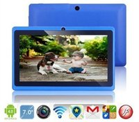 Wholesale Newest Allwinner A33 Quad Core inch q88 Tablet PC Android Dual camera MB Ram GB Rom Wifi YouTube