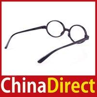 Al por mayor [ChinaDirect] Marco Nuevo Unisex Ronda Moda partido del vestido de lujo Big Nerd Anteojos Gafas Ahorre hasta un 50%