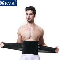 big abdomen - GKVK men s abdomen abdomen with waist corset girdle beam beer belly thin air in summer BIG GIFT BAG