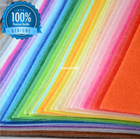 craft materials - All Size Polyester Nonwoven Fabric DIY Patchwork Sewing Handmade Needlework Felt Fabrics Textile Material food craft supplies
