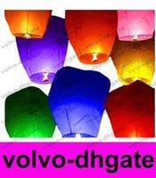 Sky Lanternes, Lampe Souhaitant Lantern montgolfière Kongming Lanterne chinoise Souhaitant livraison gratuite GALY629