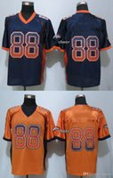 baseball denver - 32 Teams Men s Denver Thomas Drift Fashion Orange Blue Elite Jerseys Football Jerseys Good Quality