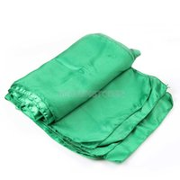 Wholesale 10Pcs x275cm Green Satin Table Runners Wedding Party Supply Decorations hv3n