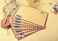 airmail envelopes - Sets Pieces Set Vintage Airmail Envelopes Vintage Envelopes sobres de papel Small Envelopes For Gift Cards Set Papel
