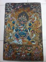 Wholesale Tibet Nepal thangka tara buddha Kuan statue Guan Yin Exorcism peace wealth cs