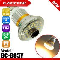 bc lighting - BC Y Wifi Bulb IP P2P DVR Camera with W Yellow WARM LED Light