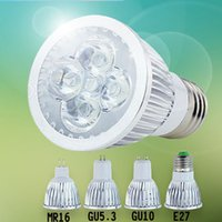 Wholesale high quality aluminium lamp cup GU10 E27 MR16 GU5 LED spot light ultra bright power w w light source v