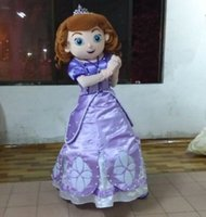 Cheap Fancytrader Top Sale Real Picture Sofia Mascot Costume Fancy Dress