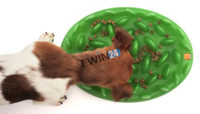 Wholesale New Green Interactive Slow Feeder for Dogs Specially designed Dog Food Bowl No Gulp Slow Feeder