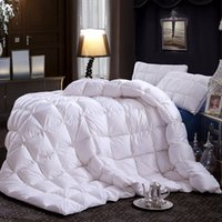 Wholesale Christmas gift Royal luxury duvets soft smooth shiny winter warmth by core a quilt W316
