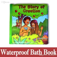 bath books - Baby Toys Learning Book Brinquedos Adam and Eve Story Book Waterproof For Bath Toys Kids Soft Livros Librios Tela Colorful Toys
