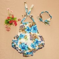 chevron clothing - 2016 New Arrival retail Baby Clothes Cashew flowers Baby Bubble Romper Chevron Rompers Photo Props with headband color