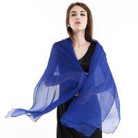 Wholesale 2015 womens designer scarfs bohemian silk scarves for women beach sunscreen long scarves colors high quality