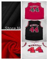Wholesale Newest Nikola Mirotic Jersey Chicago Baksetball Jerseys Red White Black Rev30 Men s Mirotic Basketball Cheap Jersey