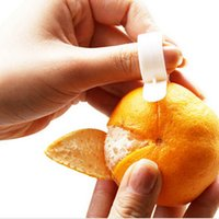 orange peeler - 1pcs Orange Peelers Zesters Device practical Orange Stripper opener Fruit Vegetable cooking Tools