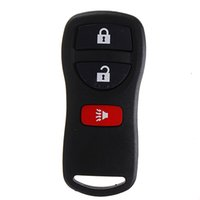 Wholesale car Button Complete Remote Key Entry Fob Shell For Nissan for Armada for Xterra With all electronics and battery order lt no track