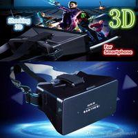 Wholesale Universal D Glasses Video Google Cardboard VR Virtual Reality Glasses Headset NFC Kit