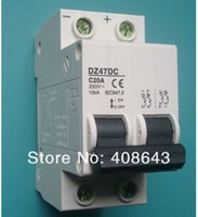 best solar system - Best quality DZ47 Type P DC Circuit Breaker DC MCB Mini Circuit breaker DC V FOR PV Solar system