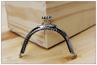 handle metal silver yy 85cm silver semicircle coins purse frames metal kiss clasp bags making
