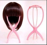 Wholesale Best Stand Holder Display Tool Folded Folding Head Stable Durable Wig Hair Hat Cap