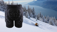 Wholesale New Unisex Sport Racing Ski Safety Protection Motorcycle Snowboard Skating Roller Armor Shorts Hip Protector