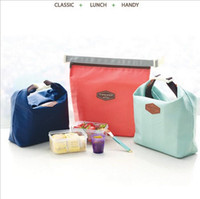 Wholesale Oxford cloth lunch bag ice pack Korea iconic aluminum foil insulation package ice bag