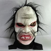 zombie - Halloween Angry Zombie Horror Mask Full Face Mask Cosplay Ghost Mask Horror Scary Mask Prank Prop For Halloween Party Supplies