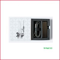 Wholesale 2015 ENail Kit Dry Herbal Digital PID Electronic DNail Dab dnail Titanium Nail Domeless Dnail D Nail E Nail WAX Vaporizer Box Vapor