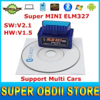 best rated windows - Top Rated Super Mini ELM327 Bluetooth Car Diagnostic Tool Works on Android Symbian Windows ELM V1 OBD2 Best Quality