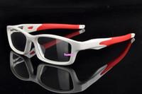 al por mayor lectura de la visión-Gafas de visión TR 90 Gafas de lectura de la miopía Marco Hombres Gafas de lente óptica de la lente del marco con el caso