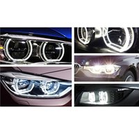 Wholesale Car styling LED Crystal Angel eyes For F30 F35 mm mm car LED headlight auto led accessory