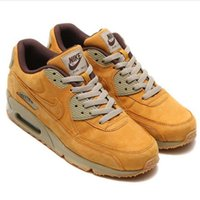 wheat quality - Men Nike Air Max Winter Premium Wheat Bronze Brown Running Shoes Maxes PRM Trainers original quality tennis shoes