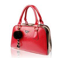 authentic crocodile handbags - new style authentic classic fashion shoulder bag diagonal package crocodile bride upscale ladies handbags RT08