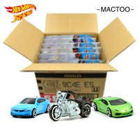 alloy wheels for cars - 72PCS box Hot Wheels C4982 alloy car toys for children alloy car model Boys and girls gifts Suitable for children over years