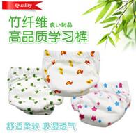 Wholesale 3PCS Sassy Baby Cloth Diaper pee potty training pants Reusable children s underwear Baby Nappies T3347