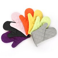 Wholesale Cotton Oven Mitt Heat Proof Resistant Protector Kitchen Cooking Pot Holder Glove
