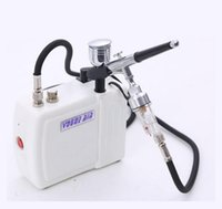 air compressors for sale - hot sale Mini Airbrush Air Compressor Kit with mm Dual Action Gun Paint for Makeup Hobby Tattoo