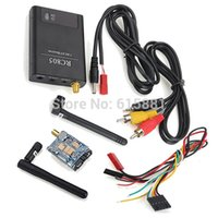 Wholesale Boscam FPV Video AV TX Rx KM GHz RC805 CH Receiver mW TS351 Transmitter