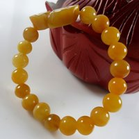 Wholesale Brave Bracelet Topaz Fashion Jewelry Jade Bracelet Lucky Chain Bead Diameter MM Suitable for Girl