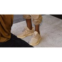 Wholesale 1 Version Yeezy Boost Oxford Tan Running Shoes Kanye Yeezys Yeezy With Retail Package Hot Unisex