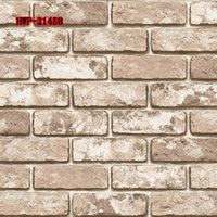 Cheap Self adhesive 3D Brick Mural Wallpapers Kitchen Bathroom Home Stone Waterproof Vinyl Wall Paper Rolls Peel and Stick Wallpaper