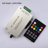 rf light wireless remote control - 18keys DC12 V Audio sound max A rf wireless remote rgb music controller led to control strip lighting