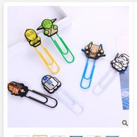 Wholesale Clips star wars Darth Vader Death CM Bookmark School Stationery Office Supply Paper Clips Binder Clips Stormtrooper Dolls Memo clips R1429