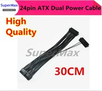 atx motherboard power supply - Dual PSU Power Supply pin ATX Motherboard Mainboard Adapter Connector Cable CM order lt no track