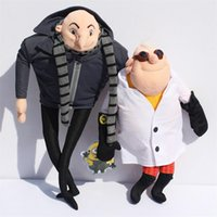 animal cuddly toys - Despicable Me Plush Toy quot Gru quot Doctor Nefario Collectible Doll Rare Villain Papa Cuddly Stuffed Animal style