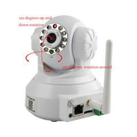 Wholesale HE New Brand HD Wireless Nightvision CCTV Security Camera Mega Motion Detction Pan Tilt P2P IR IP Camera For HOME EH