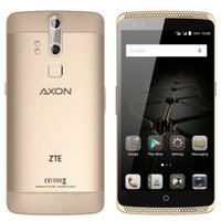 Wholesale ZTE AXON Fingerprint GB GB Bit Octa Core Qualcomm Snapdragon inch Android MP Camera Eyeprint HiFi Smartphone